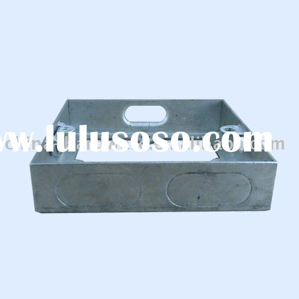 G.I. box,extension ring 1-gang,steel box,switch box,socket box,terminal box,outlet box, metal juncti