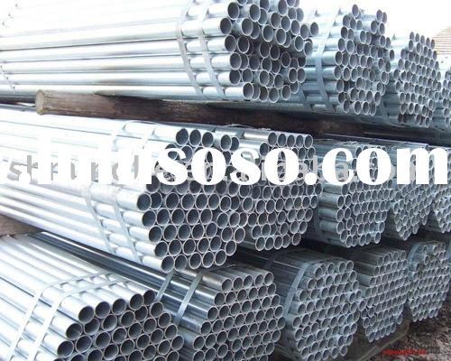 Galvanized Pipes(hot dipped galvanized steel pipe)