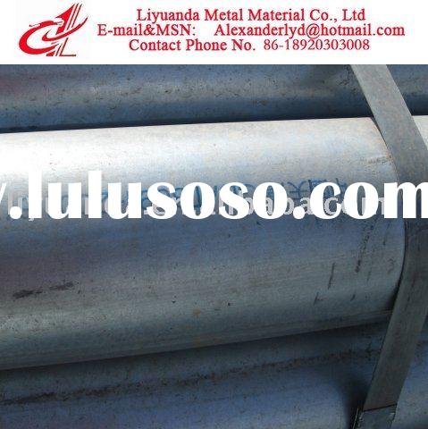 Galvanized Steel Pipe/Galvanized Welded Tube/Hot Dipped Round Pipe
