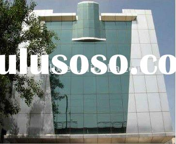 Glass Exterior Wall Material Aluminum Composite Decorative Panel