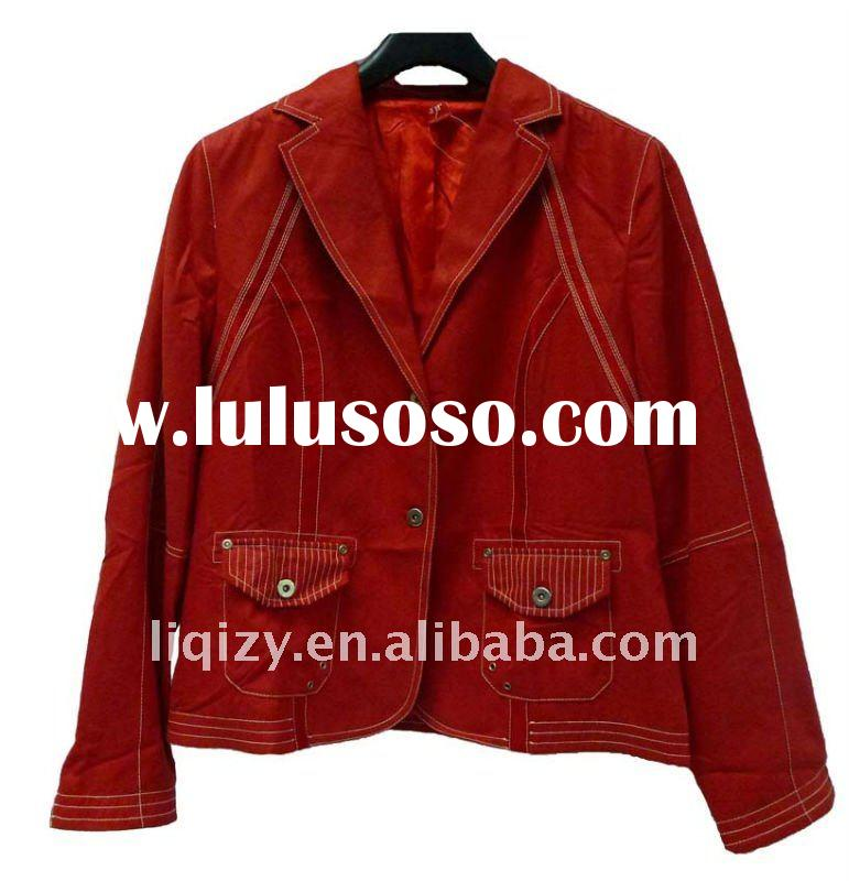 Good Red leather jackets for ladies