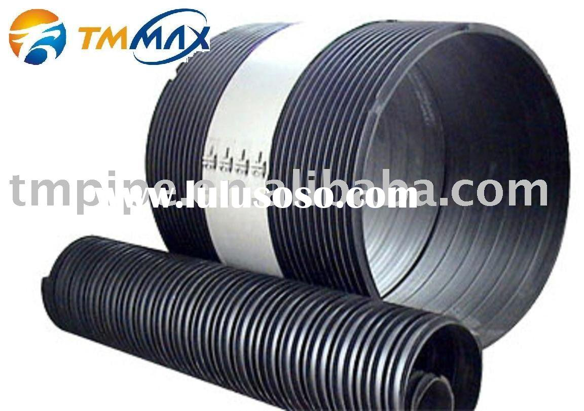 HDPE Corrugated Drainage Pipe With Steel Reinforced,HDPE Corrugated Water Pipe With Steel Reinforced