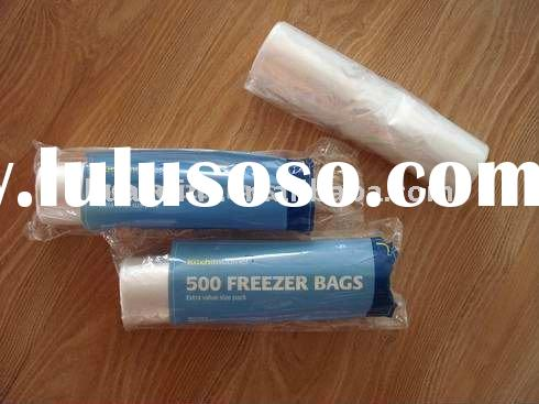 HDPE Flat Food Bags on Roll with printing