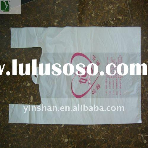 HDPE t-shirt shopping bag with high quality