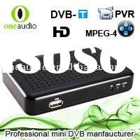 HD IPTV SET TOP BOX FOR TV RECEIVER DVB -T USB TUNER