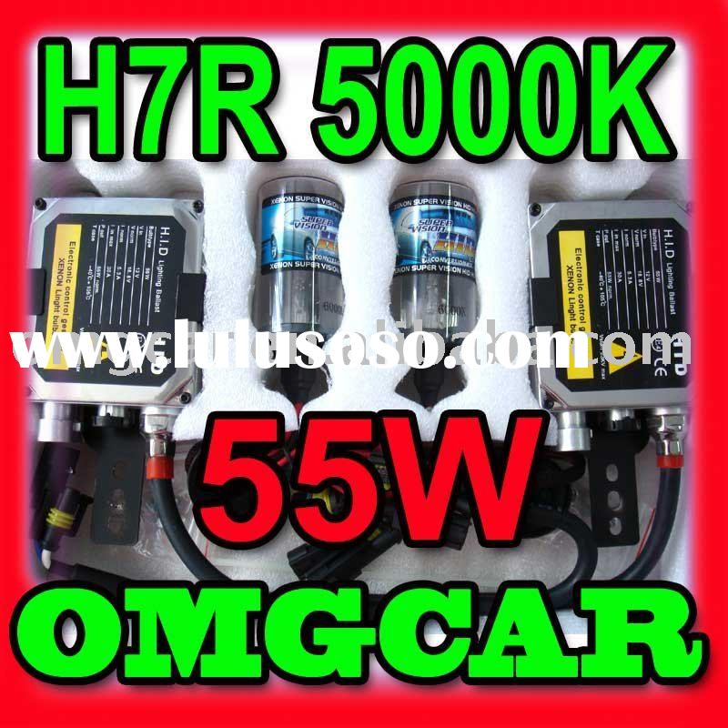 HID XENON conversion Kit 55w H7R 5000K Single beam
