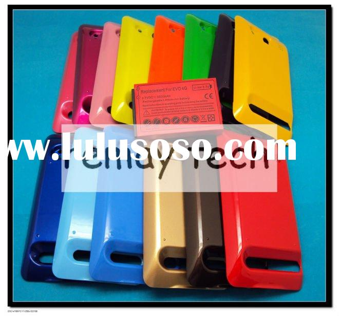 HOT!3500mAh Extended Battery with Colorful Battery Cover for Sprint HTC EVO 4G