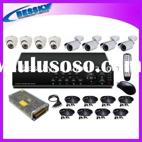 H.264 standalone CCTV dvr System security cameras systems