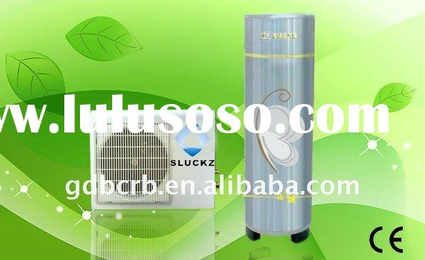 Heat pump combined with solar water heater system
