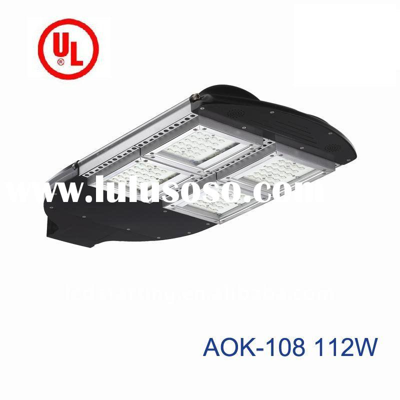 High Brightness UL CE & RoHs certificated 112W NEW LED Solar Street Light with 5 years warranty