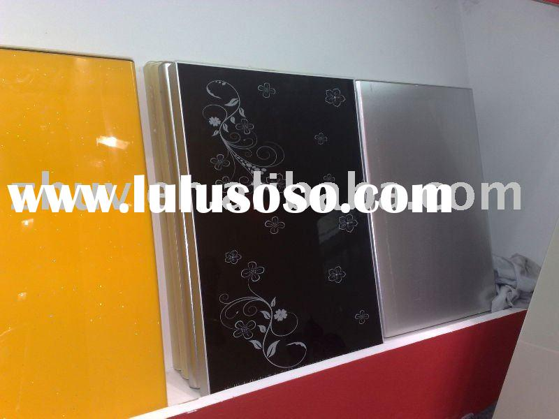 High Gloss Lacquer Kitchen Cabinet Door(Baking PU Piano Paint)