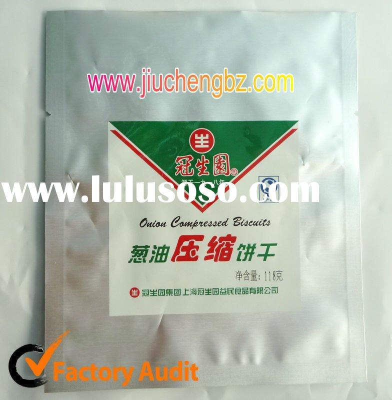 High barrier aluminium foil packaging bags for food