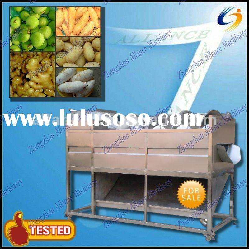High capacity Stainless Steel Automatic Vegetable and Fruit Cleaning Machine