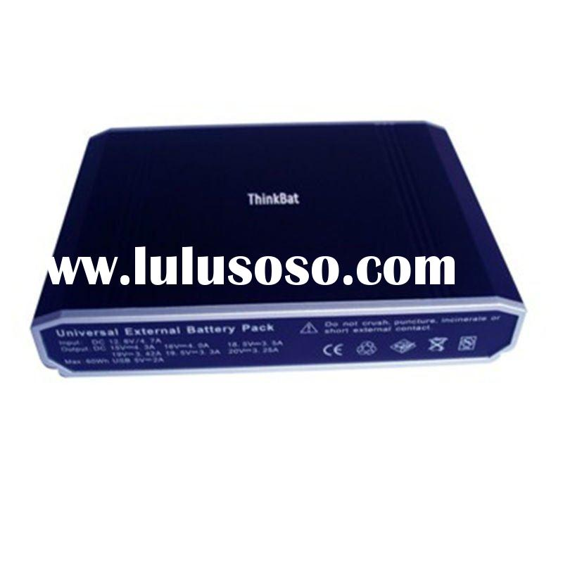 High capacity Universal External Battery for laptop ipad iphone