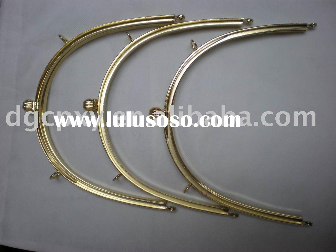 High quality metal handbag handle,metal frame for handbag and purse