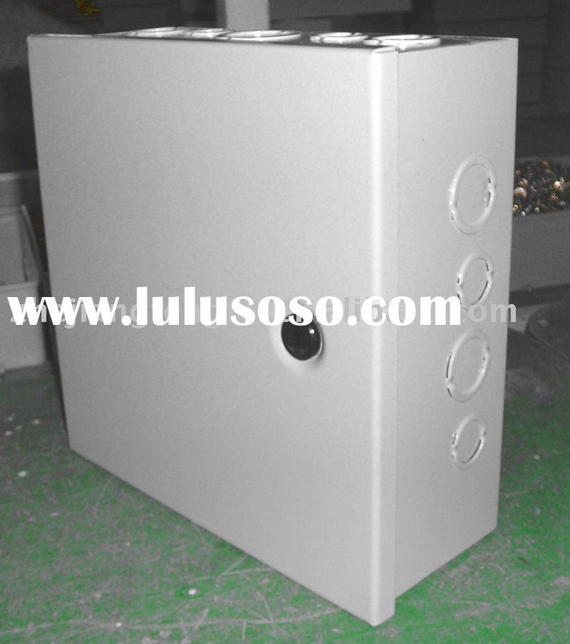 Hinged Cover Metal Enclosure with Knockouts