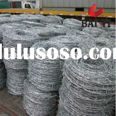 Hot Dipped Galvanized Barbed Wire Factory