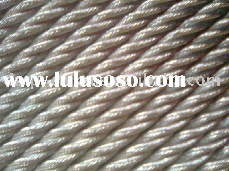 Hot Dipped Galvanized Steel Wire Rope for Suspended Platform