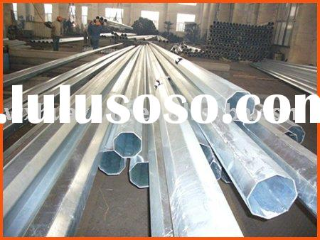 Hot dip galvanized Steel pole