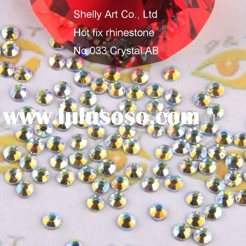 Hot fix strass(Rhinestones) crystal beads
