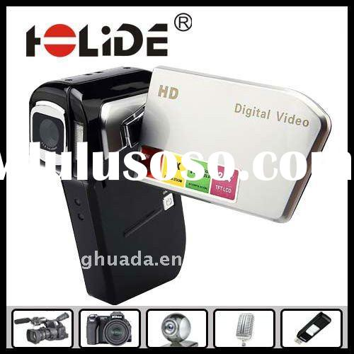 Hot sale multifunction hd 720P digital camera video camcorder with USB(DV8000A)