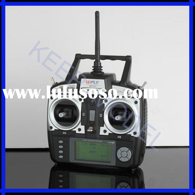 Hottest !!! 2.4G radio remote control system 7ch Transmitter & Receiver for RC helicopter boat a