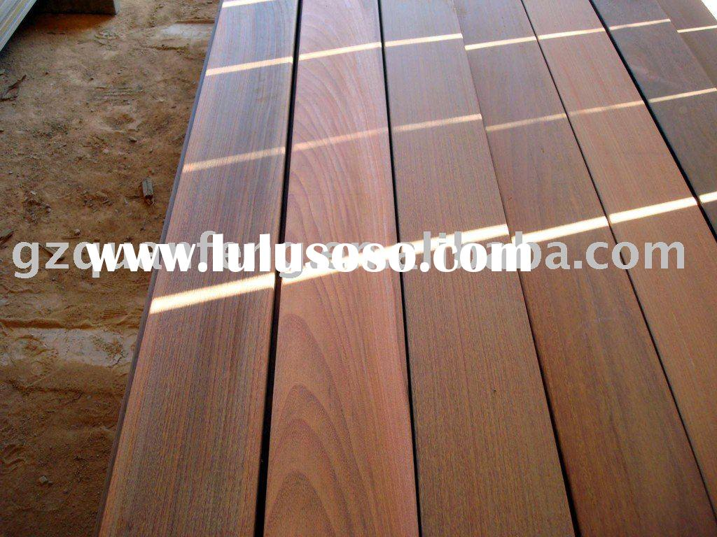 IPE outdoor solid wood flooring/outdoor decking