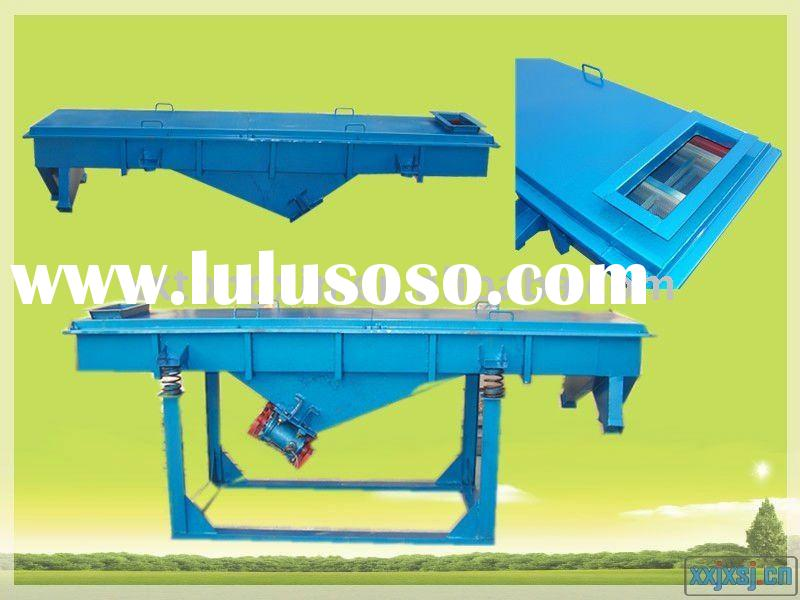 ISO9001:2008 Wood Sawdust Linear Vibrating Screen Machine