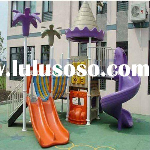 Indoor Playground Children Plastic Slide Amusement/Kids Ride Slide