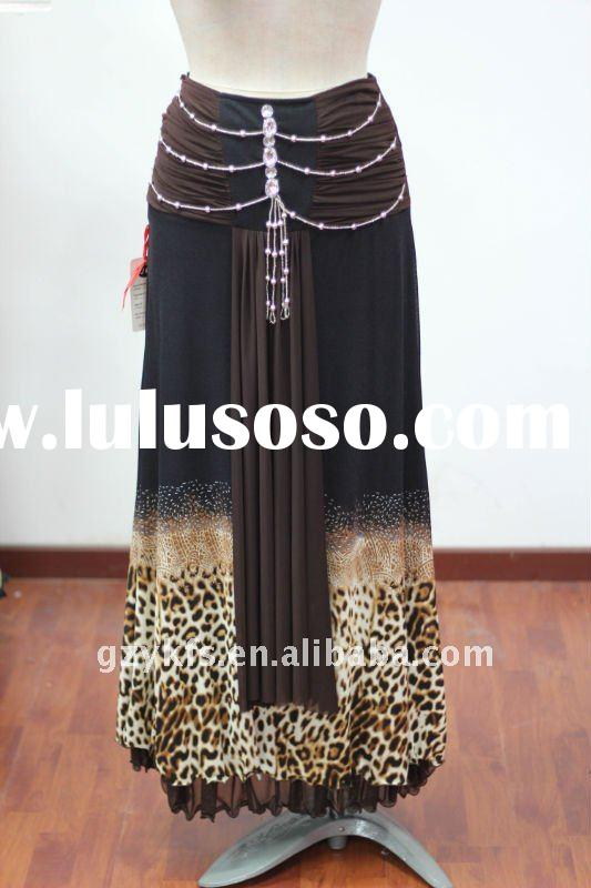 Islamic Bead Long Skirt