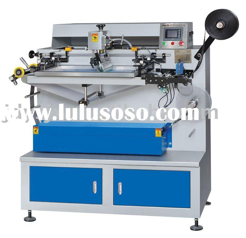JDZ-1013 Fully Automatic One-color Silk Screen Trademark Printing/label printing machine