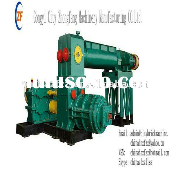 JKR60/60-4.0 Double-stage vacuum Brick Making Machine with two motors and high extrusion pressure