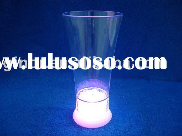 LED flashing glass/cup