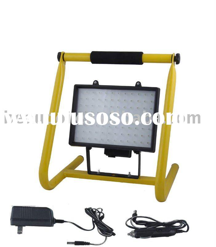 LED work light with stand