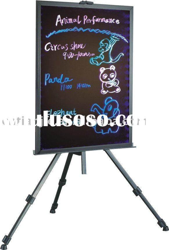 LED writing board & accessories