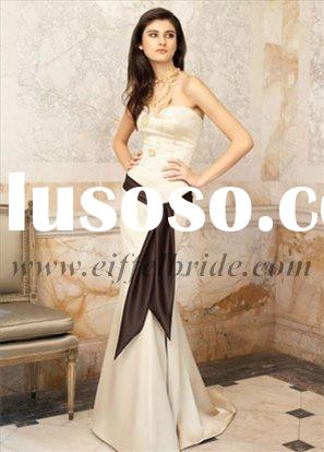 LZ-3106 beautiful evening gown(beading evening dress,wedding dress,fashion evening dress)