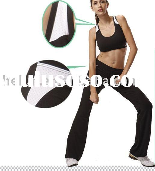 Ladies fitness garments, casual wear, yoga clothing