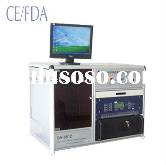 Laser 3D Photo Engraving Machine For Crystal