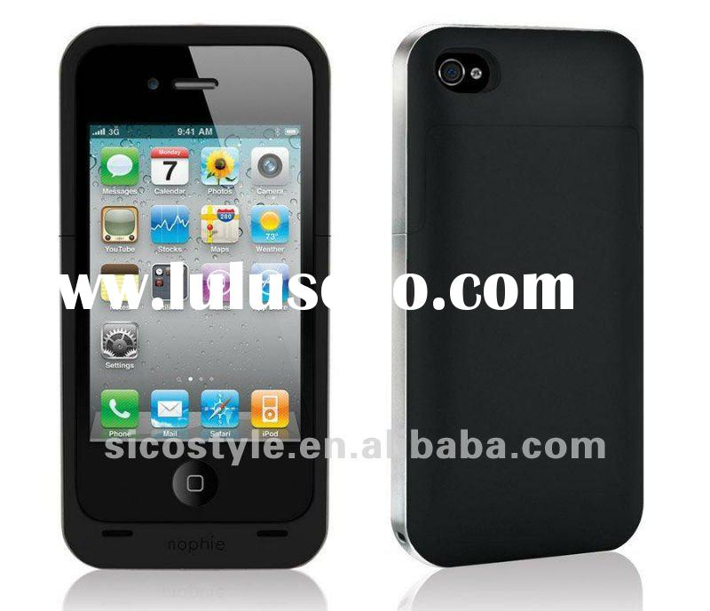 Latest!!! High Quality External Rechargeable Backup 1500mAh Battery Compatible for i-Phone 4G/4S Jui