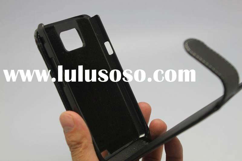 Leather case for Samsung Galaxy S2 i9100, Mobile phone cover