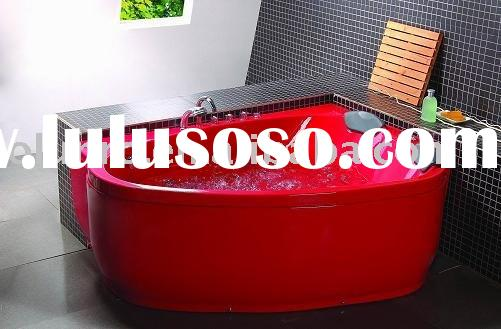 Luxurious double acrylic whirlpool massage bathtub