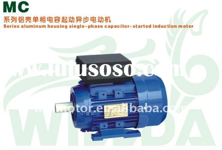 MC90L-4 Aluminum Housing Single Phase Capacitor Started Induction Motor