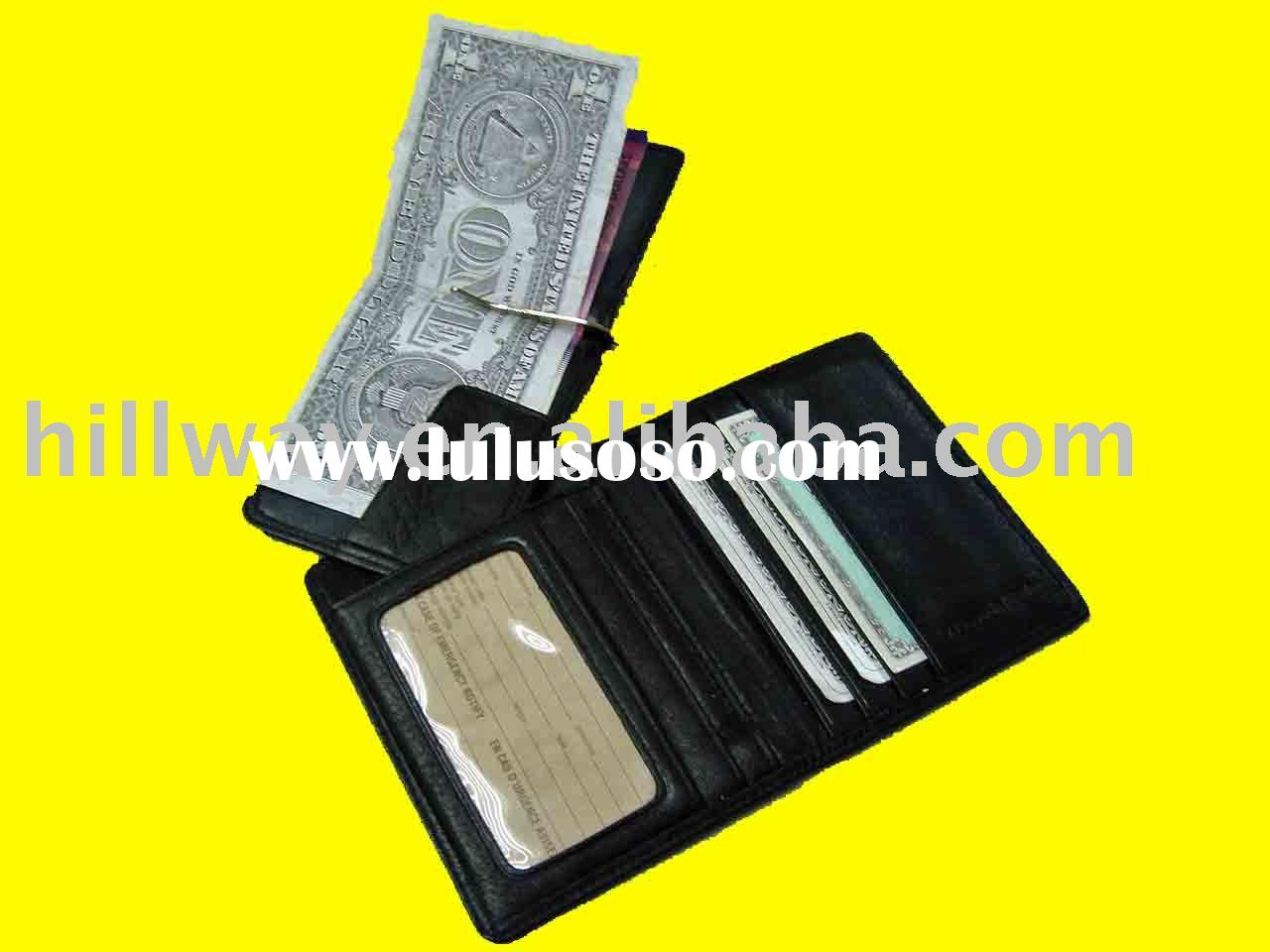 METAL MONEY CLIP ID CARD HOLDER