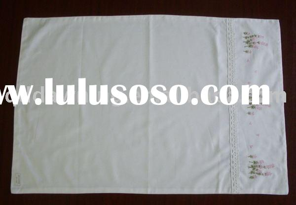 Machine embroidery pillow case,pillow cover