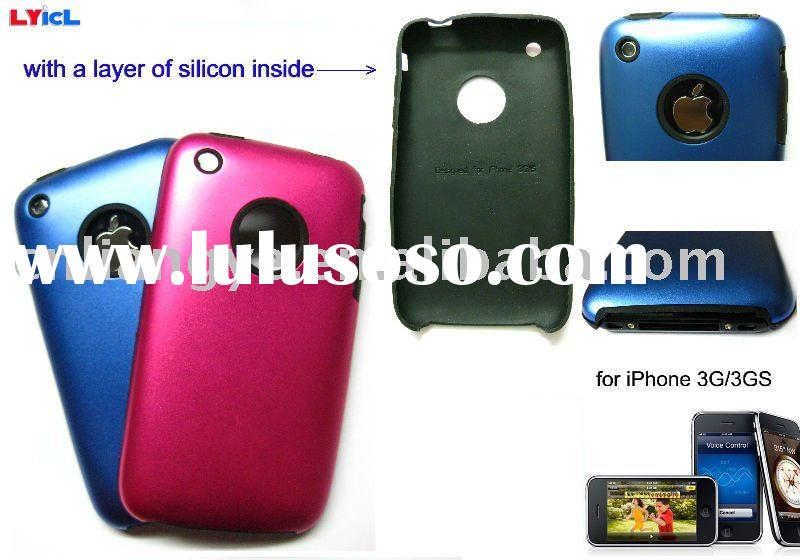 Metal Aluminum Hard Cover Skin Case For iPhone 3G/3GS(Accept Paypal)