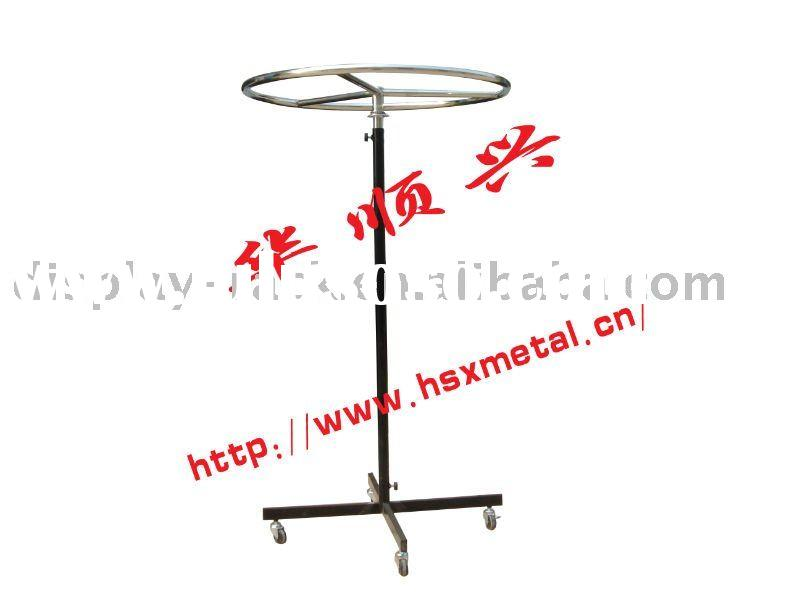 Metal Round-shape Adjustable Garment Rack