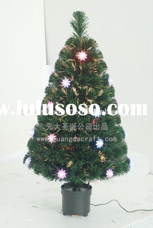 Mixed Christmas tree with light,artificial christmas tree,fiber optic christmas tree