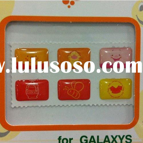 Mobile phones accessory For Samsung GALAXY S i9000 S2 I9100 Home Button Sticker