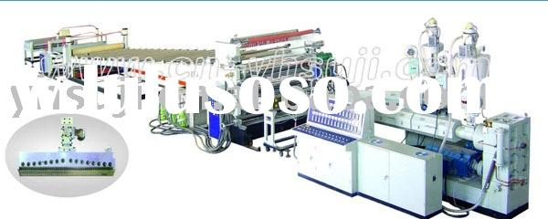 Mono/Multi layer Thermoplastic Plate and Sheet Extrusion Production Line