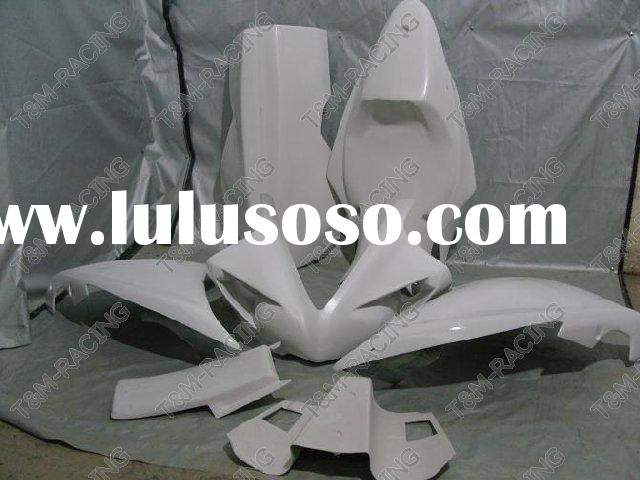 Motorcycle fiberglass race fairing kits yamah R1 2009-2010